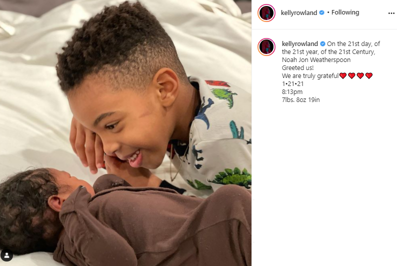 Kelly Rowland welcomes another child Tim Weatherspoon