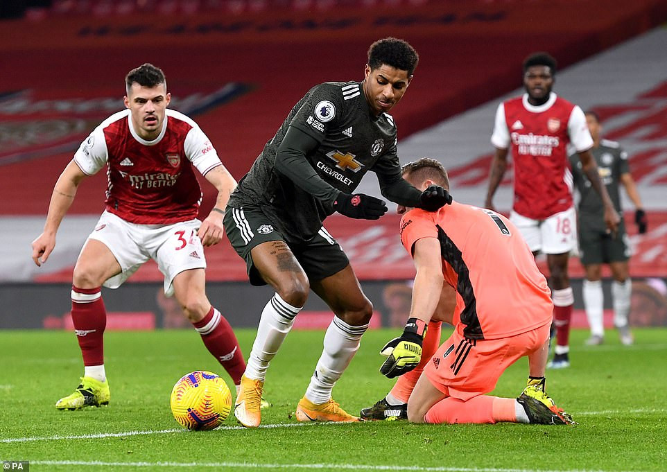 Arsenal 0-0 Manchester United : Rivals share the spoils despite entertaining match