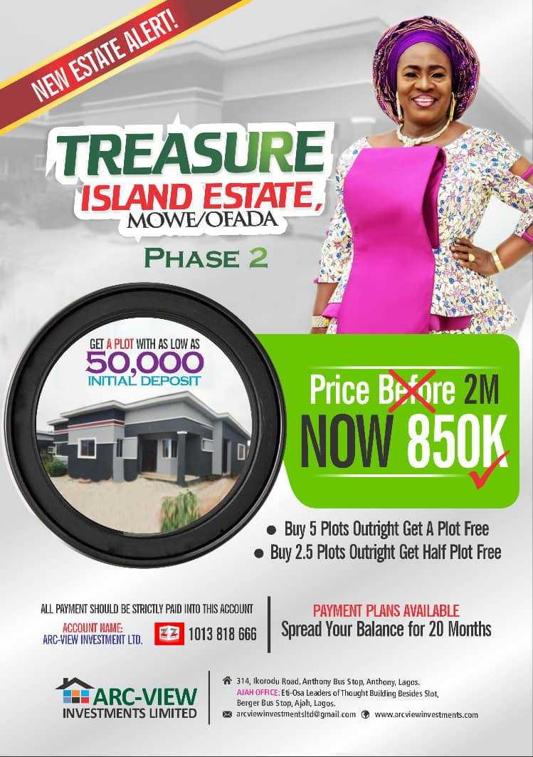 Unbeatable offer!!! Stop paying rent, Own a 4 Bedroom Duplex at ALAGBADO