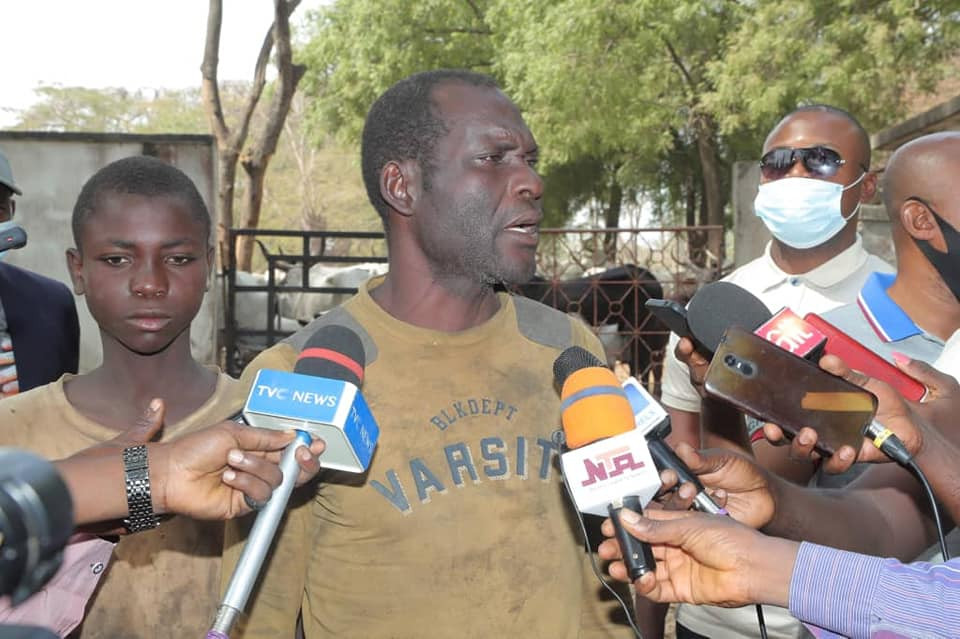 Father and son arrested for cattle rustling in Benue claim cows destroyed their farm produce