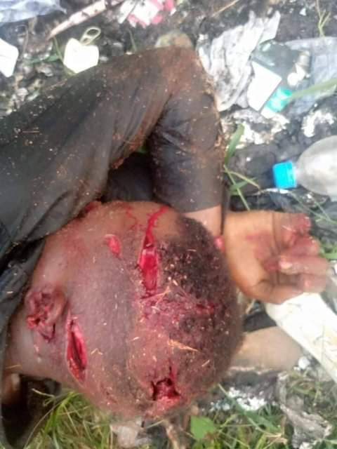 Suspected cultists hacks Poly student to death in Delta (graphic photos)