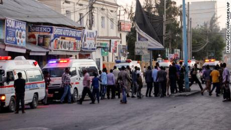 UN condemns Somali hotel car bomb attack that killed 9 persons and injured 10