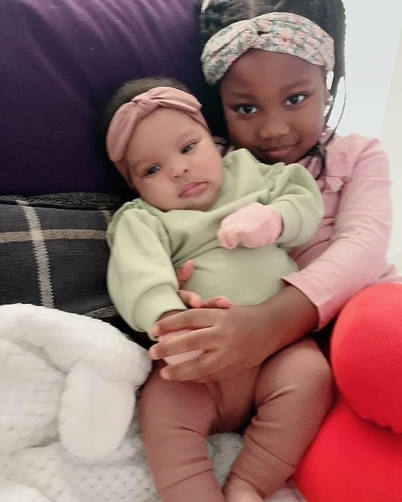Seyi Law shares adorable photos of his daughters, Tiwa and Tife