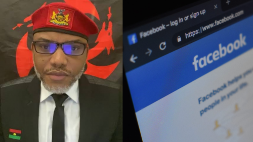 IPOB reacts after Facebook blocked its leader, Nnamdi Kanu