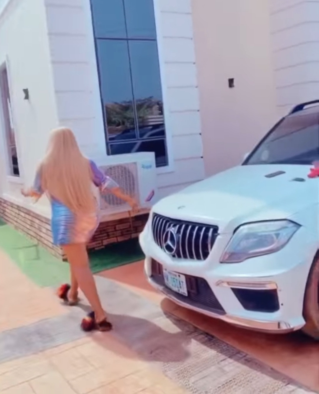 """""""An extra baby added to my garage"""" Actress, Destiny Etiko shows off her newest car (video)"""