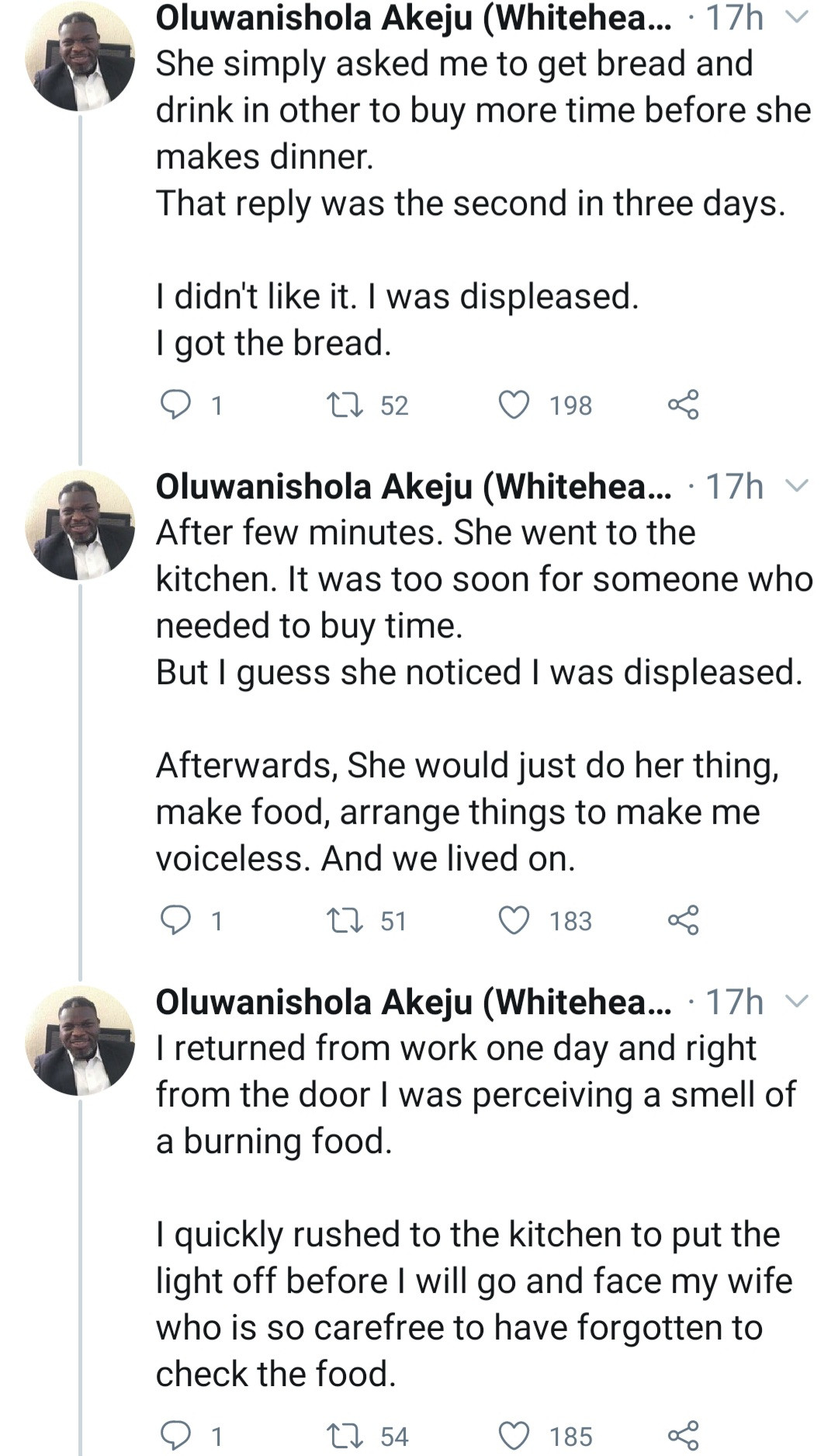 Married man narrates scary incident that made him start engaging in house chores together with his wife