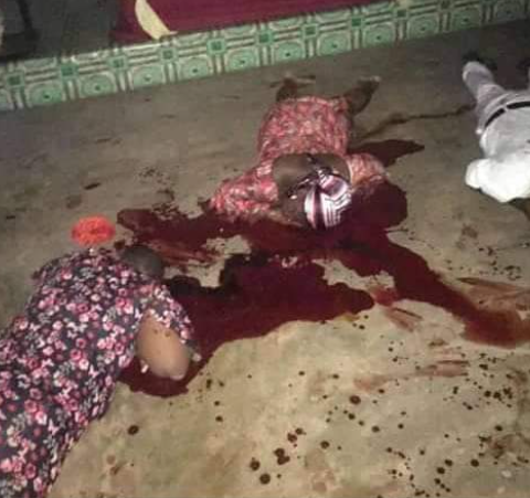 Gunmen kill Man, his wife and daughter inside a church in Anambra (graphic)