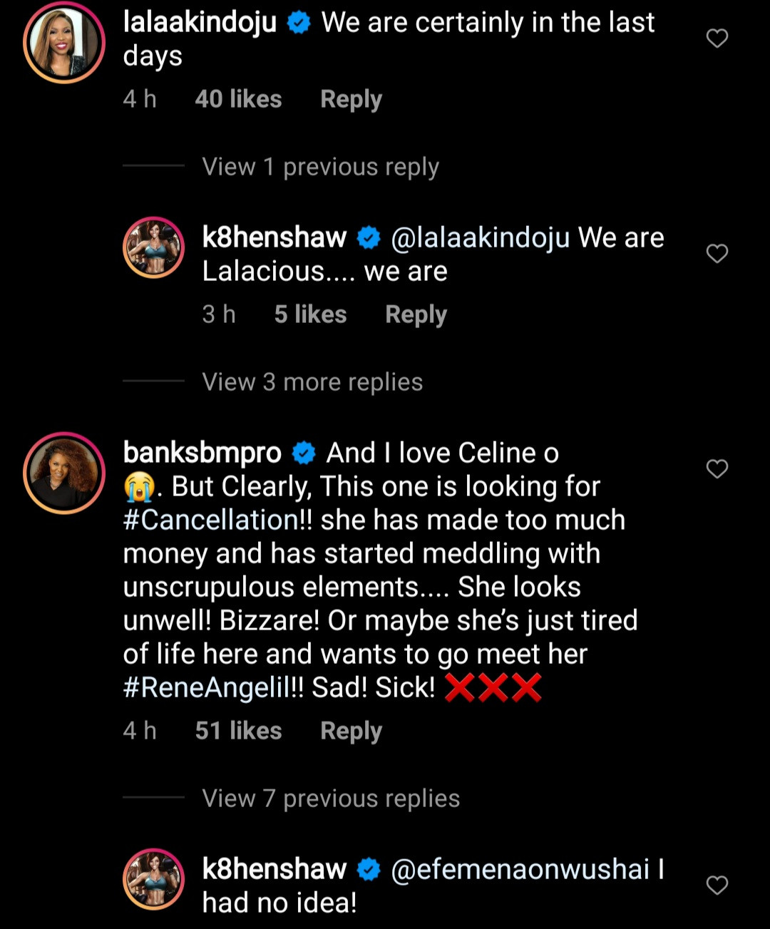 """Celine Dion is lost"" Nigerian celebrities call out singer over"
