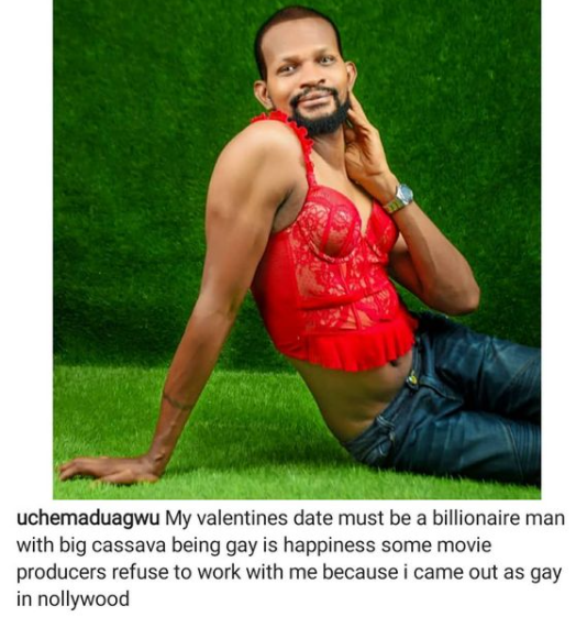 """""""I am proud to be gay""""- Uche Maduawgu tells Victoria Inyama and other actors against his sexuality; says he knows"""