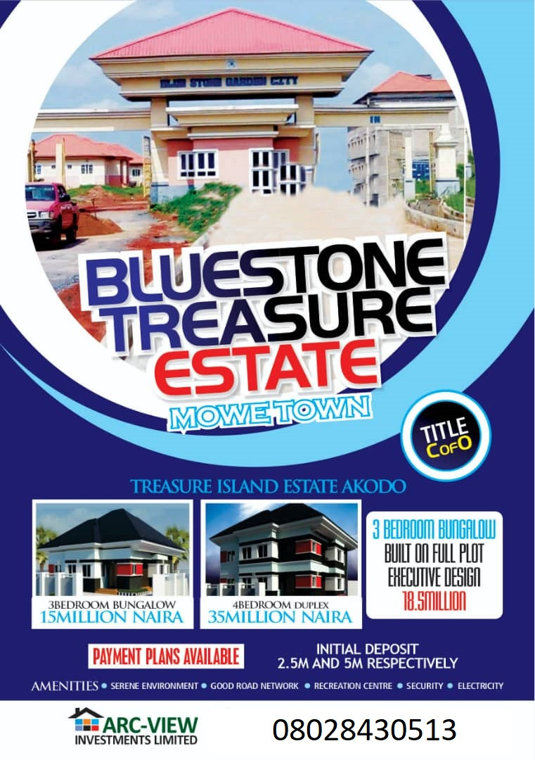 Unbeatable offer!!!!! Stop paying rent and be a landlord  with just 10,000 naira per square meter initial deposit