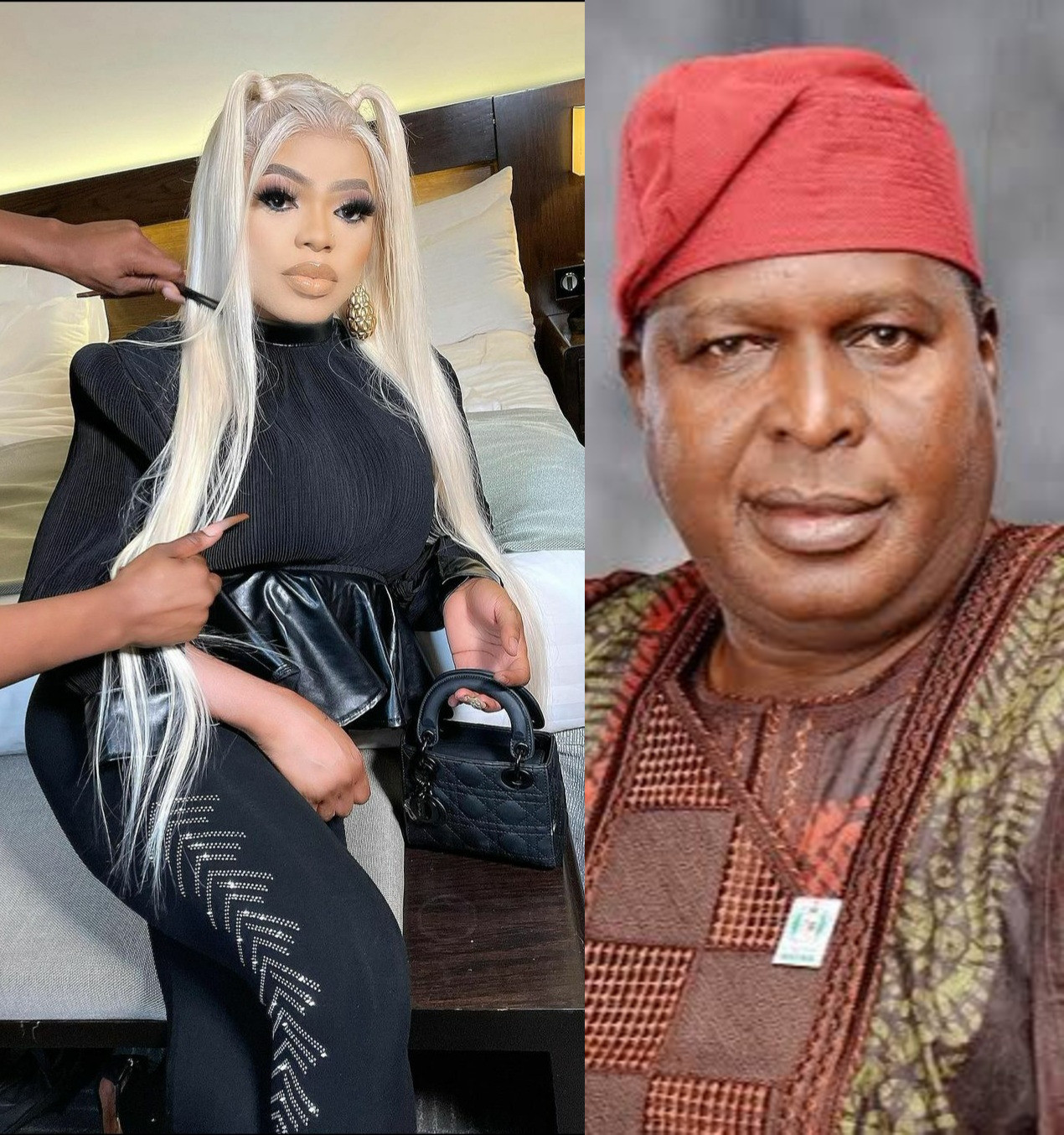 If he wants to continue with his way of life, then he should leave Nigeria - NCAC Director, Runsewe tells Bobrisky