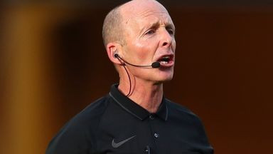 Referee, Mike Dean asks not to officiate this weekend