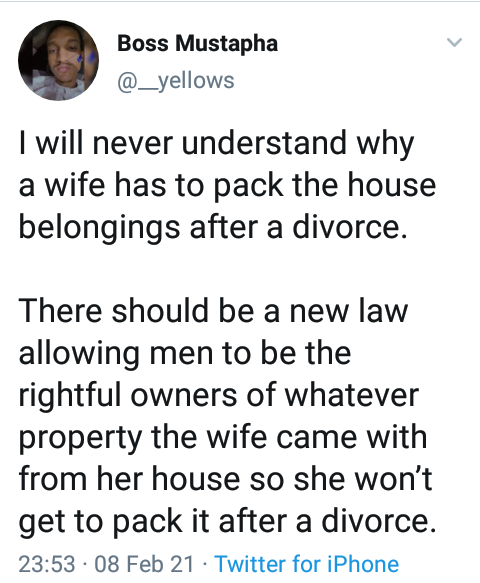 Nigerian youth leader advocates new law allowing men to be rightful owners of their wives