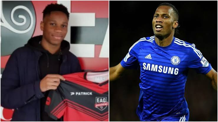 Didier Drogba?s son, Isaac, signs for Italian fourth division club