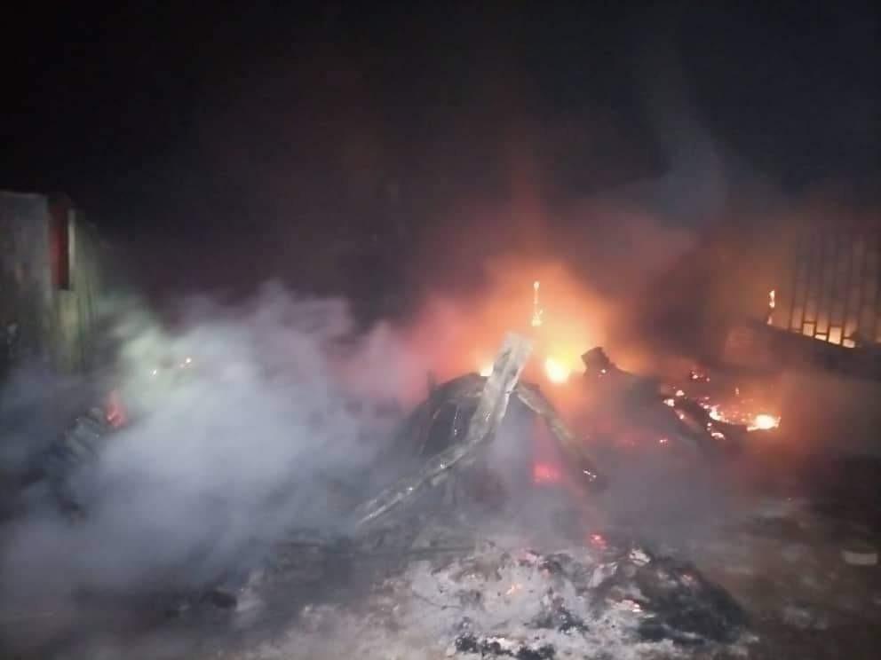 At least 9 shops burnt in Kwara fire