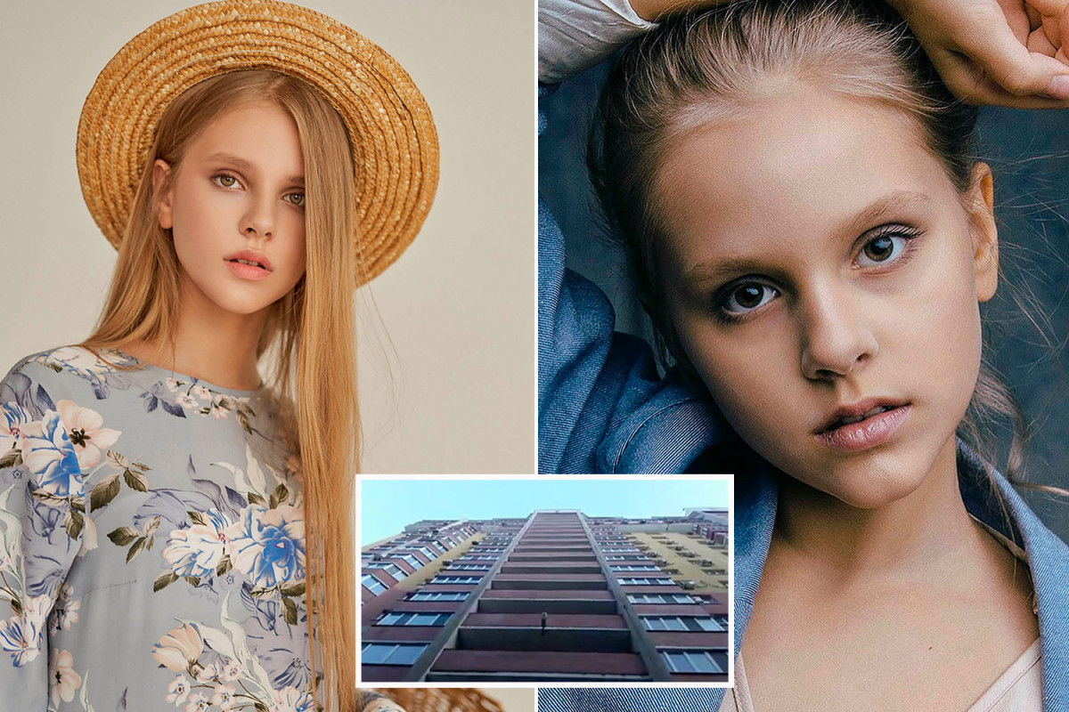 Child model, Varvara Vlasova, 12,  and her friend, who both joined an online ?death group? die after plunging from the top of a 17-floor building