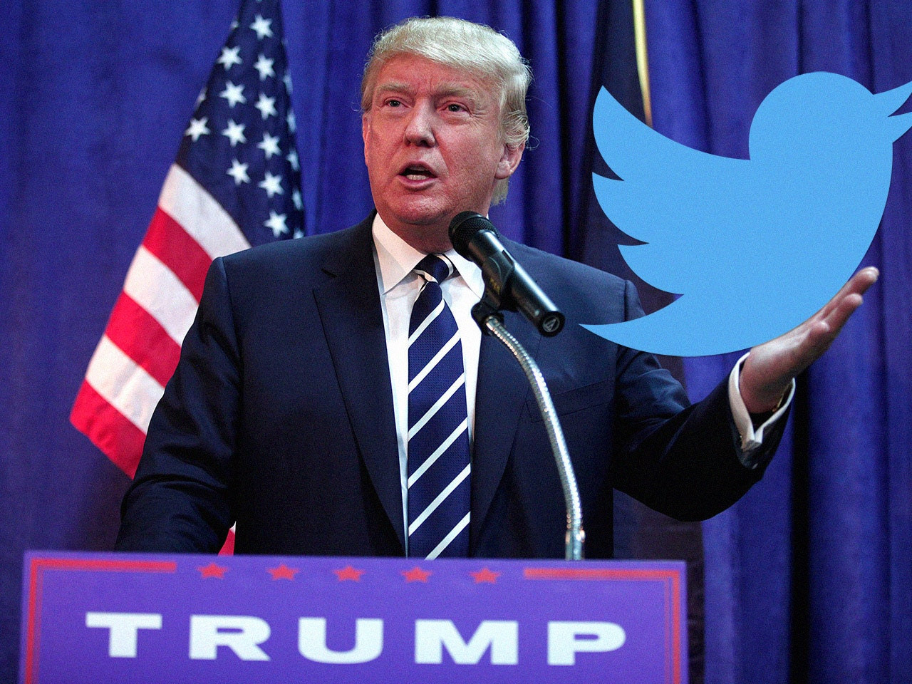 Twitter confirms Trump