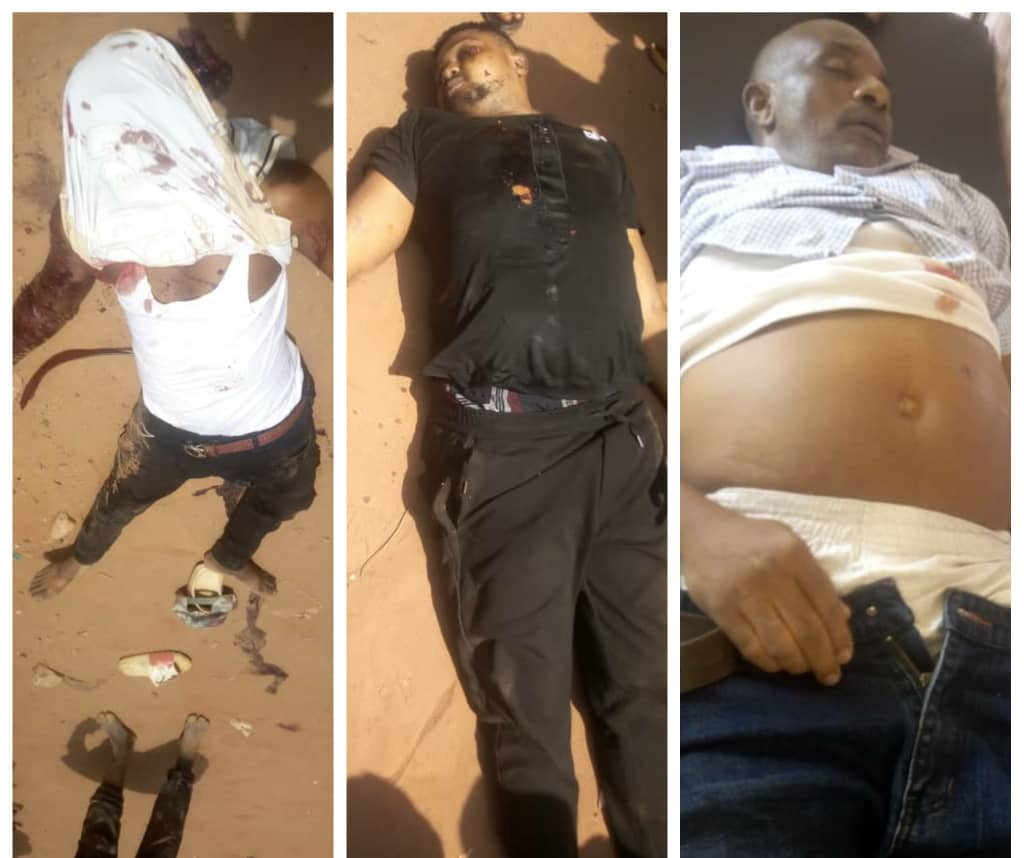 Three killed after unknown gunmen opened fire at a crowd in Anambra (graphic)