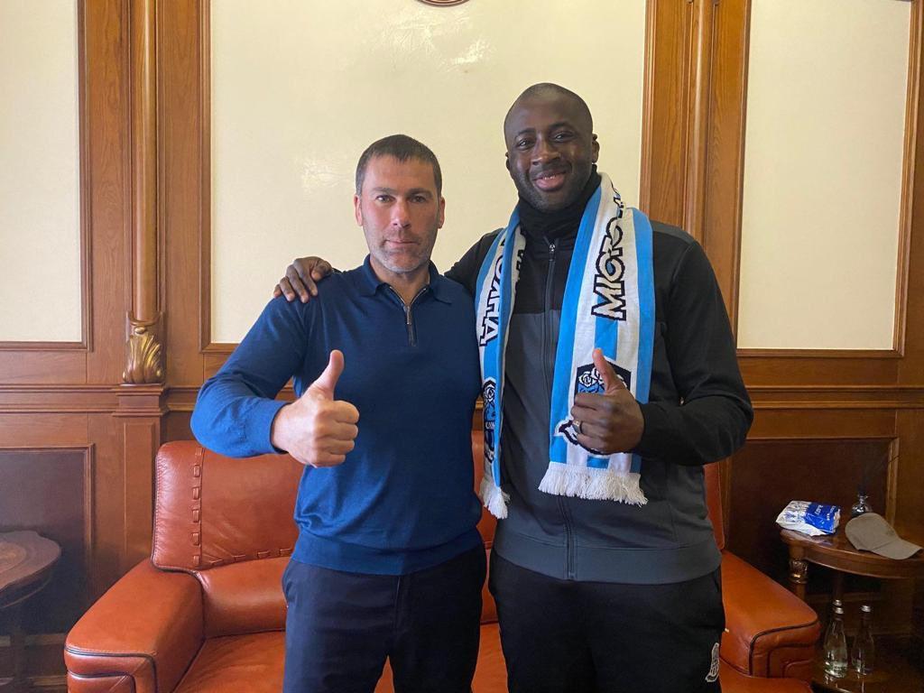Ukrainian club Olimpik Donetsk signs Yaya Toure as assistant coach