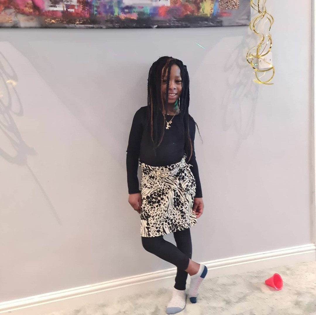 Patience Ozokwo celebrates her granddaughter as she turns 7