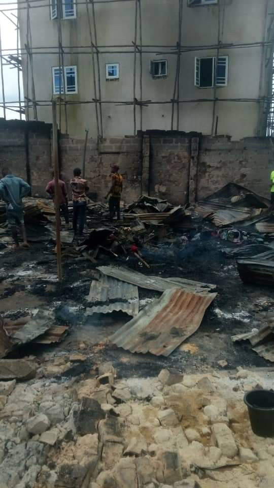 Image result for imo hotel set on fire