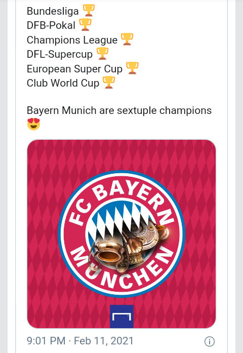 Bayern Munich win Club World Cup, matching Barcelona