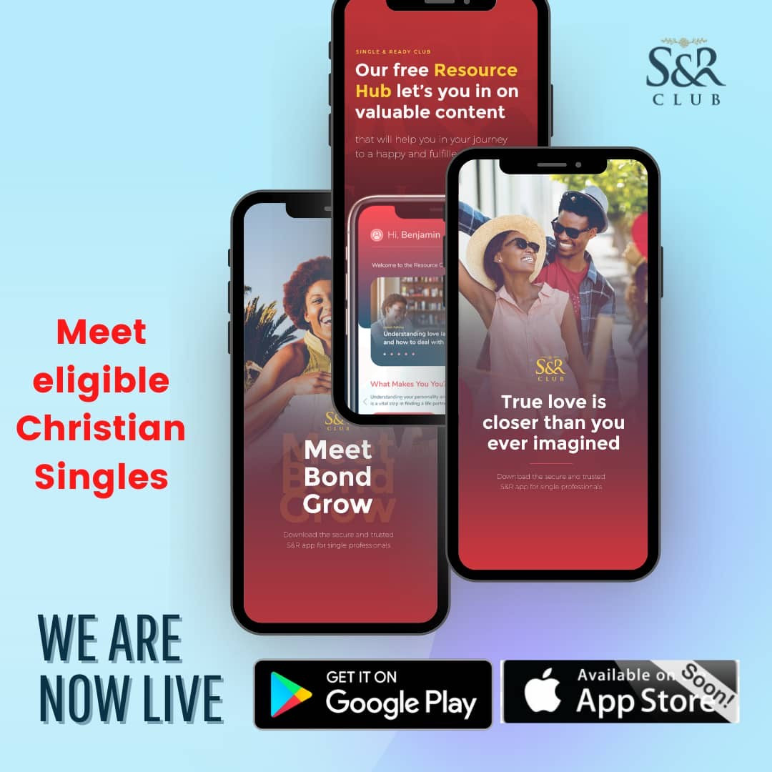 Matchmaking just got easier as S&R Club launches mobile App for Christian singles to meet, bond & grow into a successful marriage