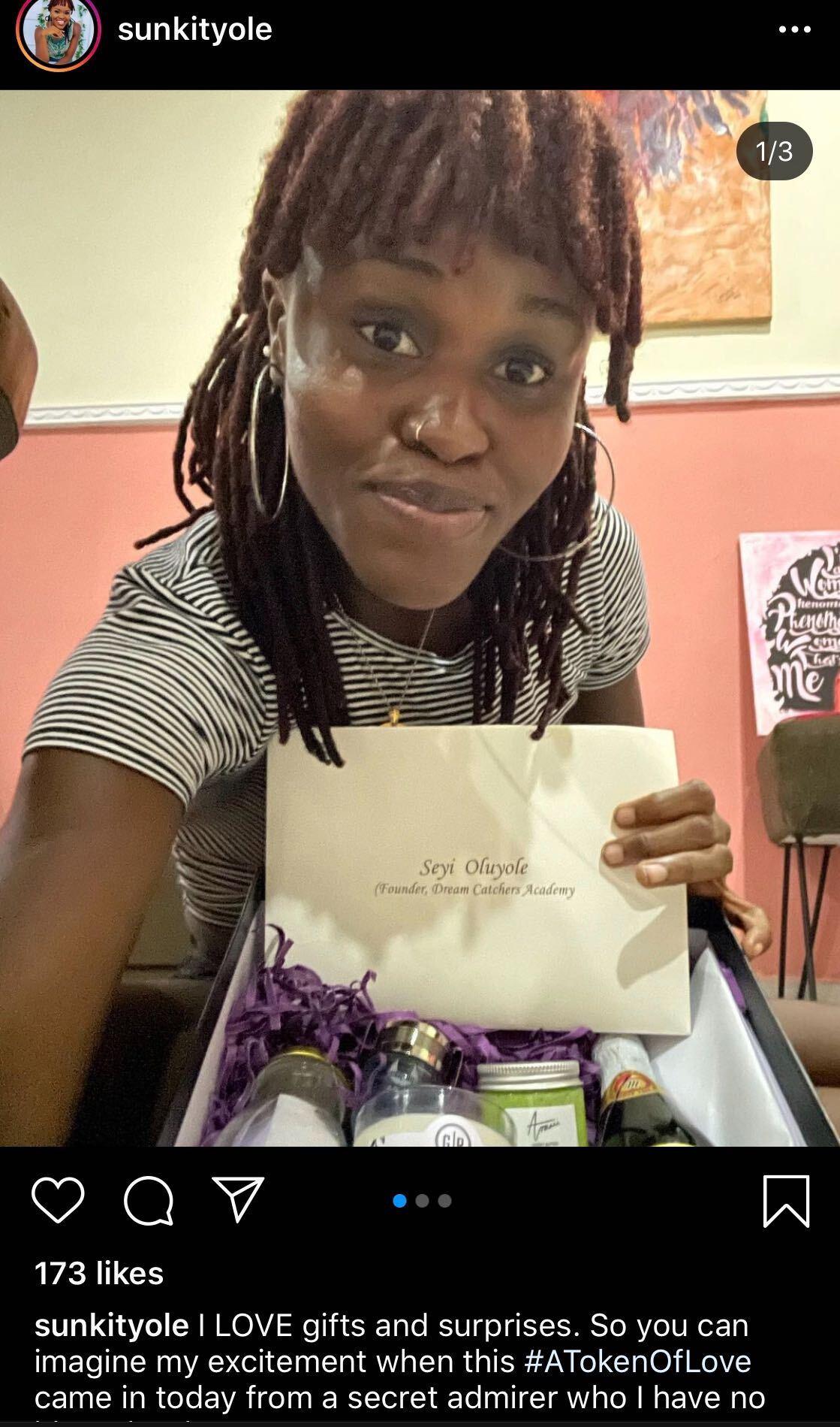 Suspense as humanitarians receive pleasant gifts from secret Valentine