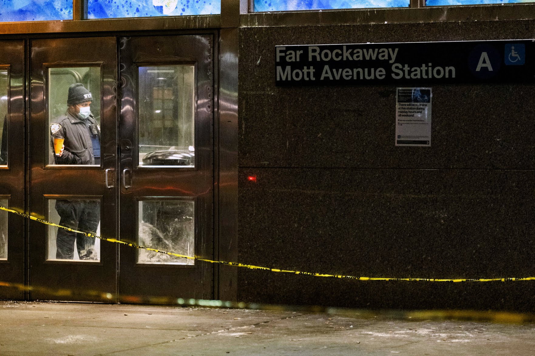 Police arrest man who carried out gory 14-hour rampage in subway train killing two and injuring others