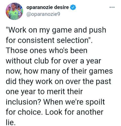 Desire Oparanozie slams NFF over her exclusion from Super Falcons squad to play Turkish Women?s Cup
