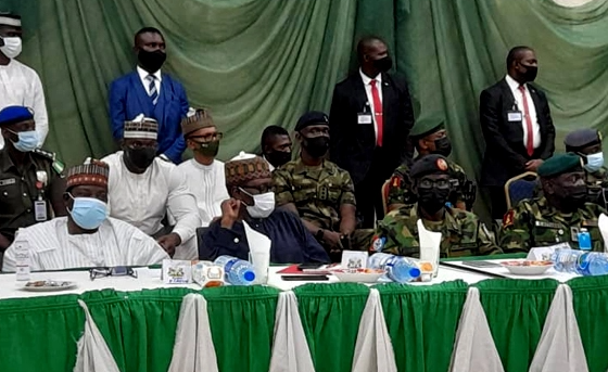 FG delegation and service Chiefs meet Northern governors and leaders over security challenges