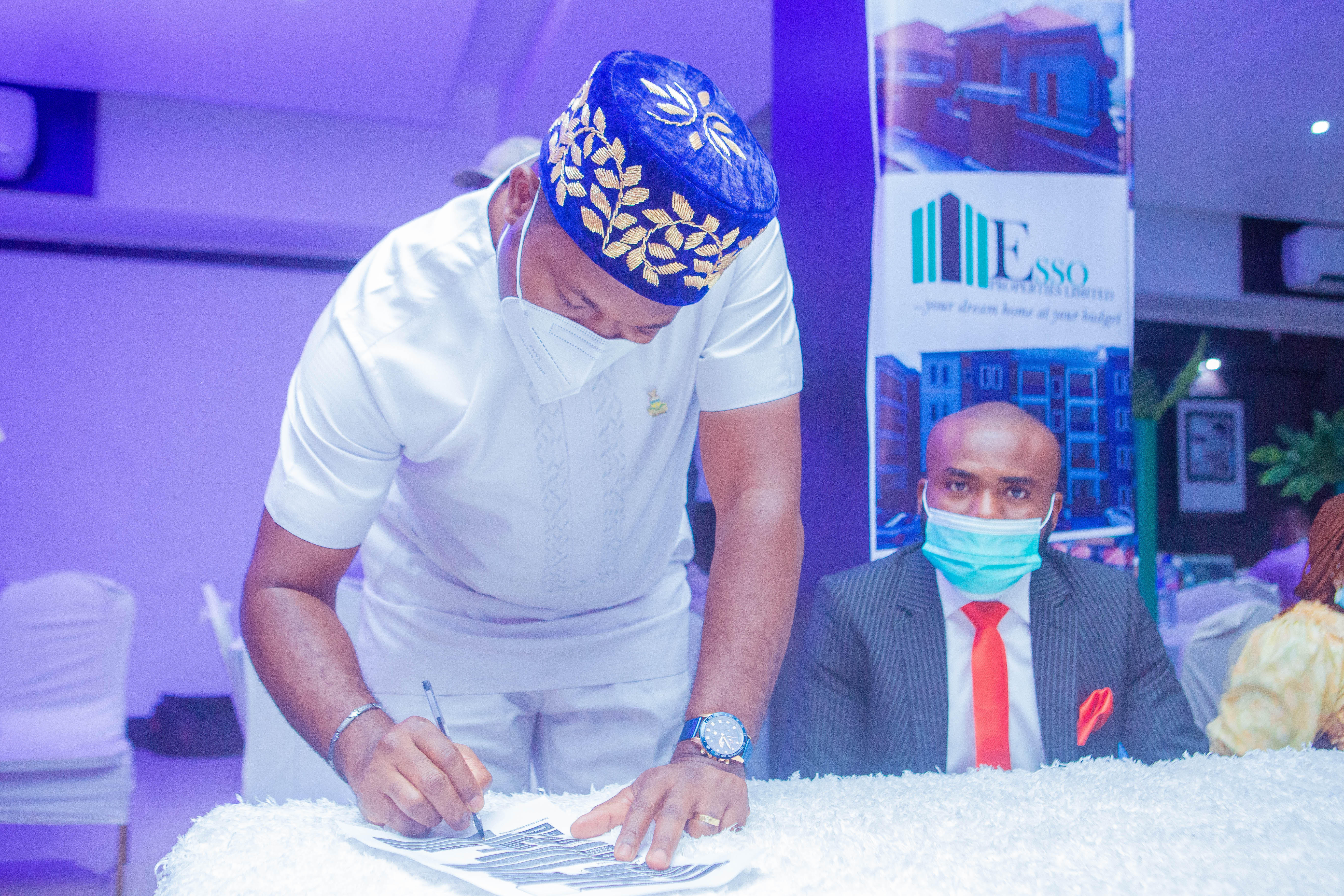 Anambra State Goes Agog as Esso Properties Limited Launches Two Estates