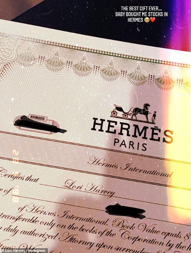 Michael B Jordan buys girlfriend Lori Harvey stocks in Herm?s as Valentine