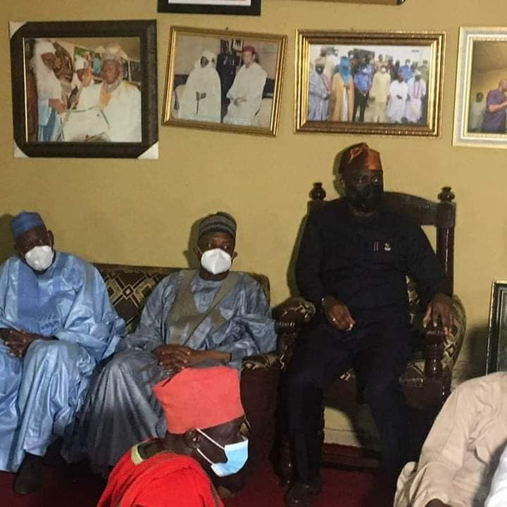 Four Northern Governors accompany Gov Seyi Makinde to visit Shasha market, scene of ethnic clash (photos)