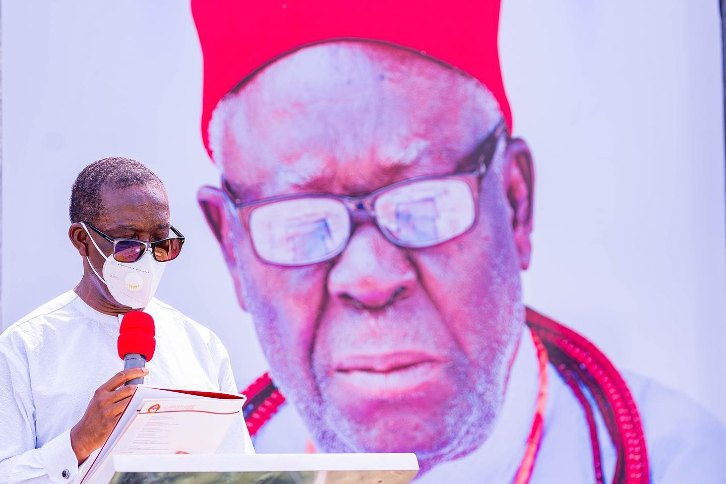 Photos from the funeral of the father of Delta state governor, Ifeanyi Okowa