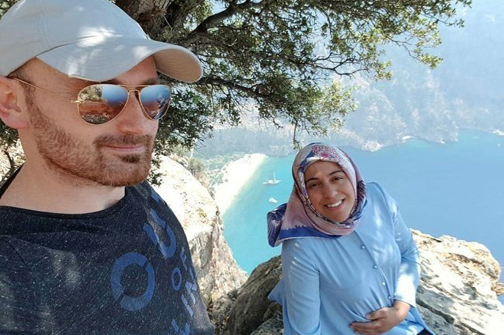 Turkish man allegedly pushes his pregnant wife off cliff after taking selfies with her