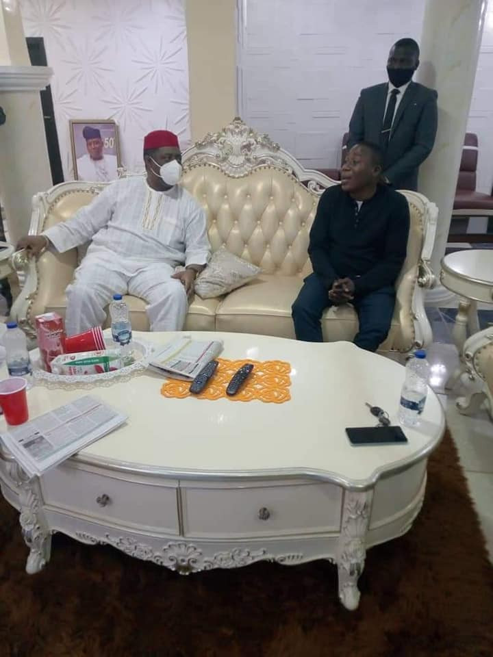 Femi Fani-Kayode meets with Yoruba activist, Sunday Igboho  (photos)
