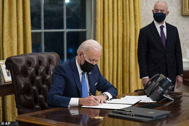 US rejoins Paris climate accord as Biden continues to reverse Trump