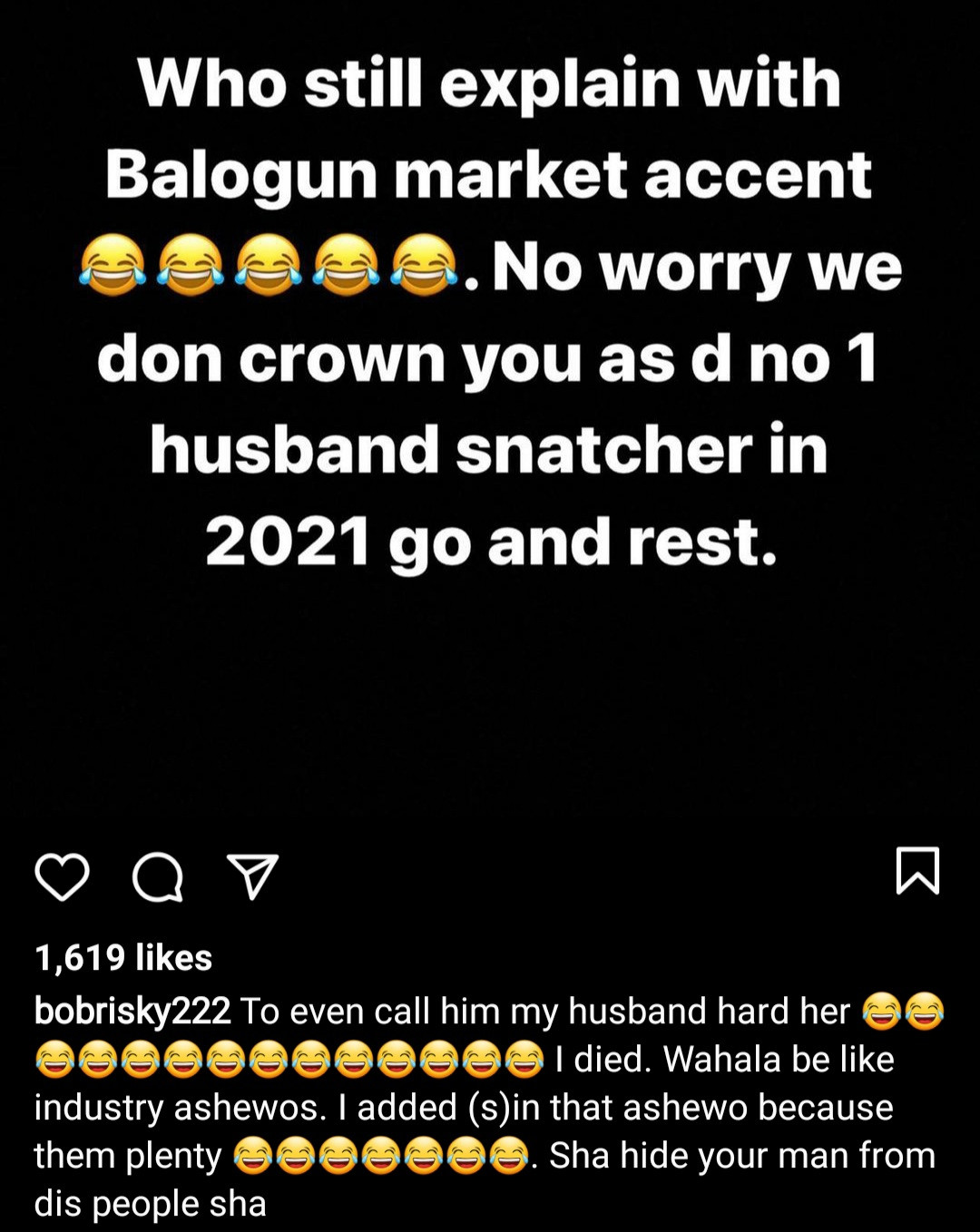 """""""Tell Rosemary to shut up"""" Bobrisky slams Rosy Meurer over her recent video denying being the reason for Tonto Dikeh and Churchill"""