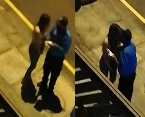 Police officer caught kissing woman he arrested for breaching Covid-19 rules (video)