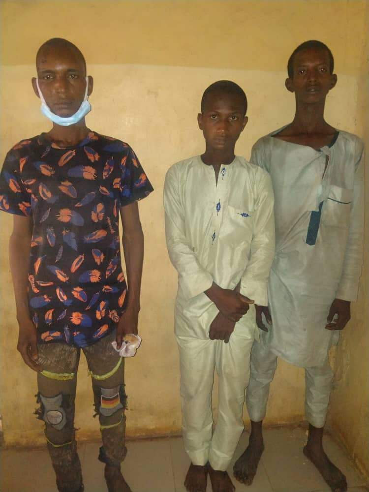Three herdsmen arrested for arson and attempted murder in Ogun (photo)