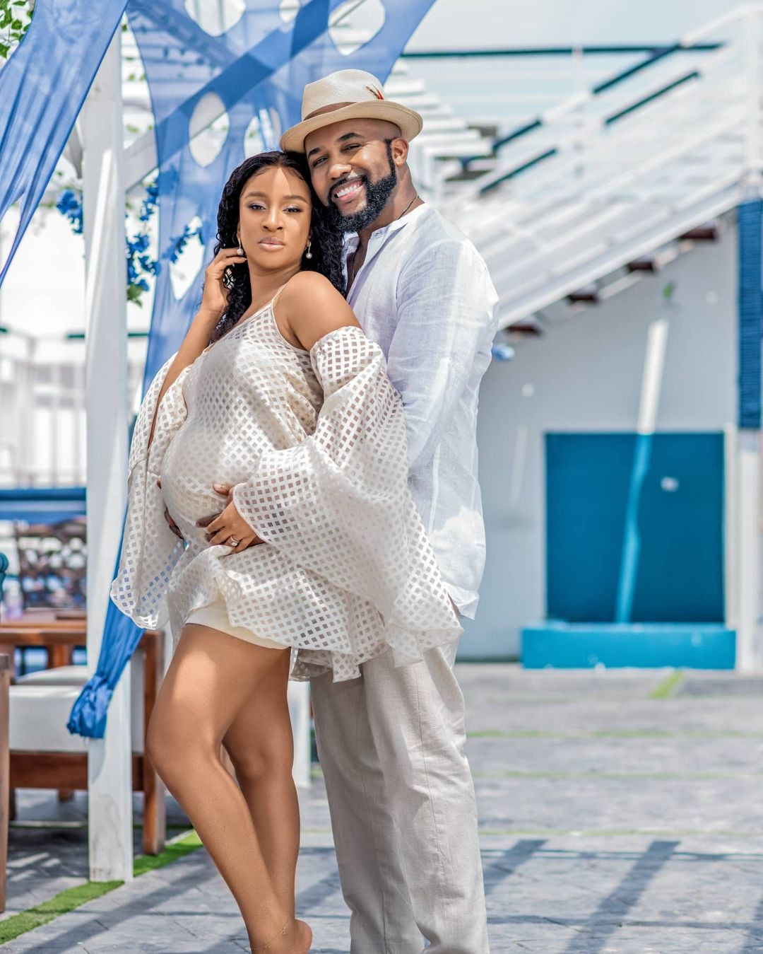 Banky W and Adesua Etomi become proud parents ! ???