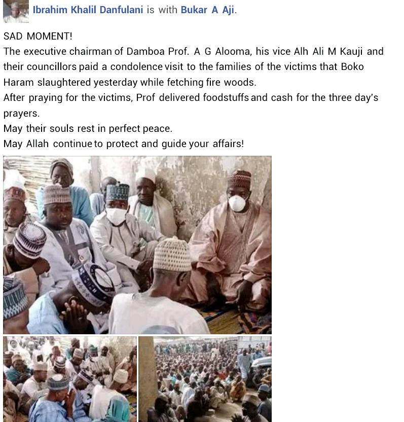 Boko Haram slaughters 5 IDPs in Borno
