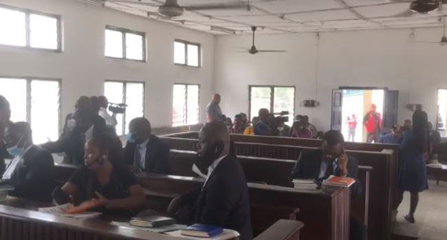 Rochas Okorocha?s aide and 13 others arraigned in court for reopening hotel sealed by Imo state government (photo)
