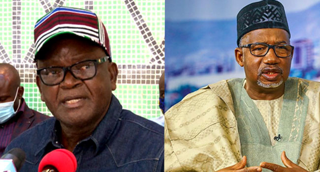 If anything happens to me, Gov Bala Mohammed should be held responsible  - Gov Ortom alleges threat to life (video)