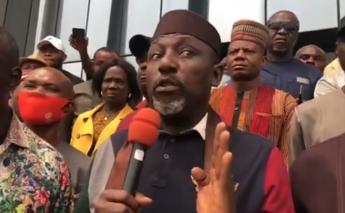 ''Don't take my calmness for granted''- Rochas Okorocha warns Gov Uzodinma (video)