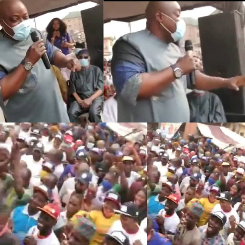 COVID19: Omoyele Sowore criticizes Nigerian police for turning blind eye when Lagos state speaker, Mudashiru Obasa, gathered a mammoth crowd in Agege (video)