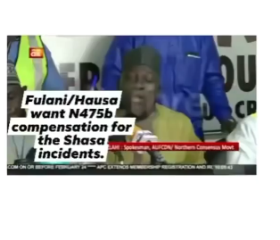 Fulani herdsmen demand for N495b compensation over lives and properties lost during the #EndSARS and Shasha crisis (video)
