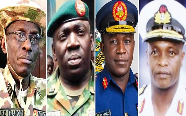 House Of Reps confirm appointment of Service Chiefs