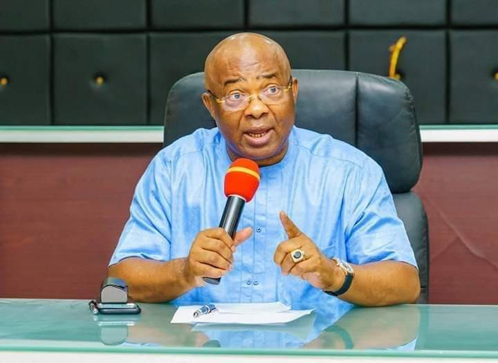We invited military to Orlu to prevent a repeat of #EndSARS saga - Governor Uzodinma